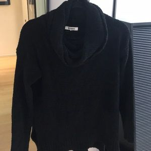 BB Dakota Cowl neck fuzzy sweater